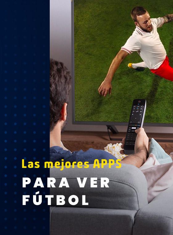 El cable no lo es todo: Las mejores apps para ver fútbol en tu Smart TV
