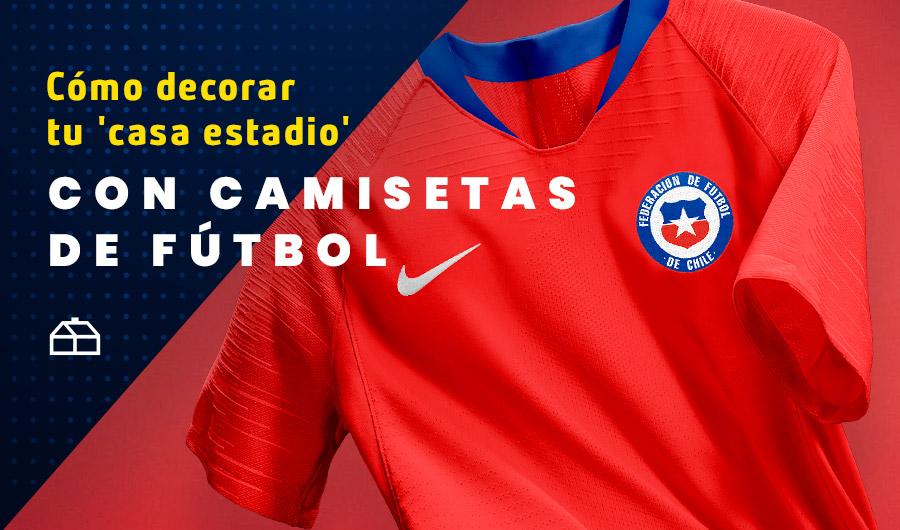 Imagen camiseta selección chilena de fútbol