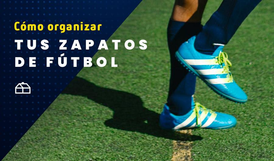 Ideal para los pichangueros: cómo organizar tus zapatos de fútbol